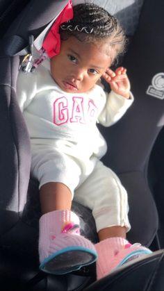 Cute Black Babies, Black Baby Girls, Beautiful Black Babies, Cute Baby Girl, Beautiful Children, Cute Babies, Baby Kids, Baby Girl Fashion, Kids Fashion