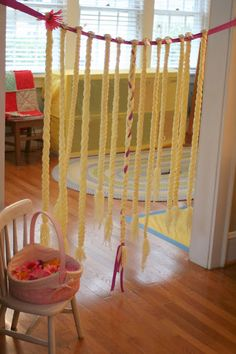 Rapunzel/Tangled birthday party ideas