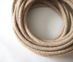 Pendant Light Cord - 12ft - Cloth Covered Wire - Vintage Style ...