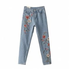 Special Offer: $30.99 amazon.com Item Type:JeansGender:WomenClosure Type:Zipper FlyDecoration:Embroidery,Pockets,ButtonJeans Style:Pencil PantsWaist Type:MidFabric Type:SoftenerLength:Full LengthFit Type:RegularWash:LightMaterial:PolyesterSkinny jeans are well received by women of all...