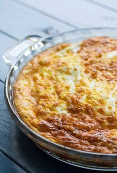 "Bacon cheddar quiche with a rutabaga crust is a unique breakfast bake and you're definitely going to be going back for seconds. The ""crust"" is actually cubed rutabaga that's been sauteed in butter or bacon fat Quiche Recipes, Egg Recipes, Kitchen Recipes, Paleo Quiche, Savoury Recipes, Tart Recipes, Cooking Recipes, Breakfast Bake, Breakfast Recipes"