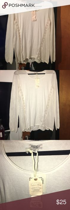 Lucky Brand Blouse Lucky Brand Sweater Blouse - Size M - New with tags Lucky Brand Tops Blouses