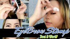 TRENDING NA BROW STAMP | SHEZI EYEBROW STAMP REVIEW + DEMO Eyebrow Stamp, Does It Work, Product Review, Eyebrows, Youtube, Eye Brows, Brows, Youtubers, Brow