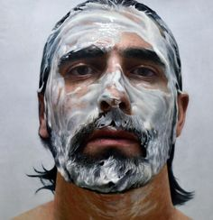 by hyperrealistic painter Eloy Morales. Paint in My Head number 10