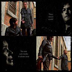 "The Walking Dead - season 3 finale ""No one can make it alone now."""
