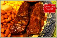 Sweet Tea and Cornbread: Sweet & Sticky Asian Style Ribs!