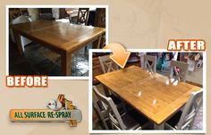 Kitchen Respray Service in Dublin Ireland Kitchen Respray, Dublin Ireland, Conference Room, Kitchens, Dining Table, Furniture, Home Decor, Dining Room Table, Decoration Home