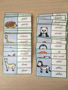 Produkt - Kartičky obrázek - slovo/ zvířata