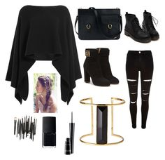 """""""Another day"""" by kylee2005 ❤ liked on Polyvore featuring Mode, Donna Karan, River Island, Salvatore Ferragamo, Rachel Zoe, NARS Cosmetics und MAC Cosmetics"""