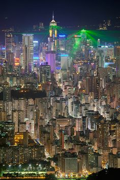 Hong Kong - one of my favorite cities though never actually vacationed there - business trips and layovers.