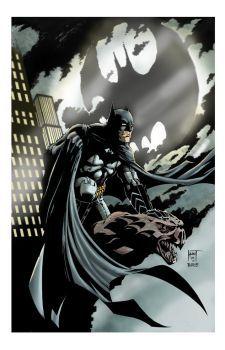 A Dark Knight by KenHunt