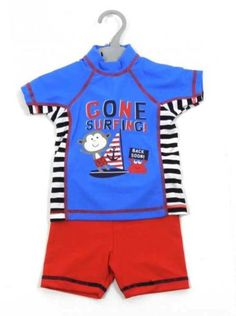 Gone Surfing' Swim suit WAS £7.00     NOW £5.00 Sizes 6-9m, 9-12m, 12-18m, 18-24m, 2-3y and 3-4y  Purchase here http://grubby-hands.myshopify.com/?afmc=d