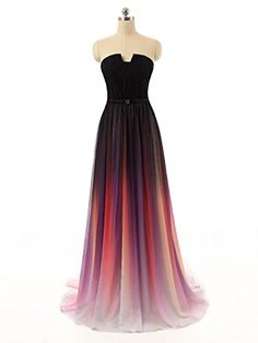 EnjoyBuys 2015 Gradient Ombre Chiffon Long Prom Dress Evening Dress Strapless (US 14, Picture Color) EnjoyBuys http://www.amazon.com/dp/B012JYPQJY/ref=cm_sw_r_pi_dp_Q3-gwb09HZ7QD