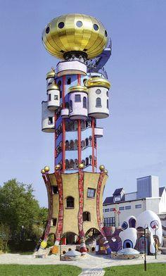 Hundertwasser Turm in Abensberg