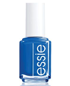 Break tradition with a bright and bold blue mani on your wedding day. Essie nail polish in Something Blue is an elegant pink for bridal tips or toes.