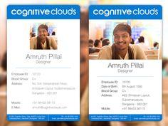 Professional Employee ID Card on Behance | 品牌VI | Pinterest ...
