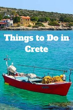 Travel the World: Things to do on the island of Crete in Greece.