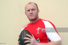 Rugby Union Player Martyn Williams of Wales poses during a photoshoot held on February 12, 2009 in Cardiff,Wales,United Kingdom.