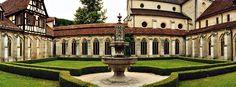 Kloster in Bebenhausen, Deutschland