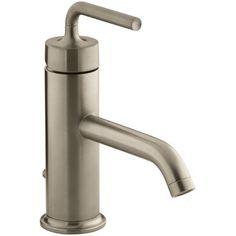 Gallery One Kohler Purist Single Hole Bathroom Sink Faucet with Straight Lever Handle u Reviews Wayfair