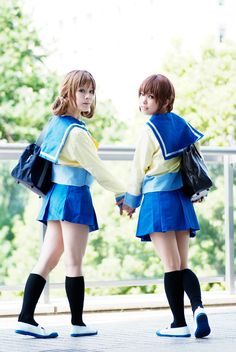Corpse Party Cosplay Naomi and Seiko