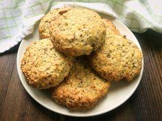 Glutenfria chiafrallor utan mjöl | Glutenfria godsaker New Recipes, Baking Recipes, Healthy Recipes, Fika, Healthy Alternatives, Muffin, Low Carb, Gluten Free, Yummy Food