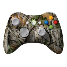 XBOX 360 controller Wireless Glossy WTP-380-Next-Camo-Vista Custom Painted- Without Mods