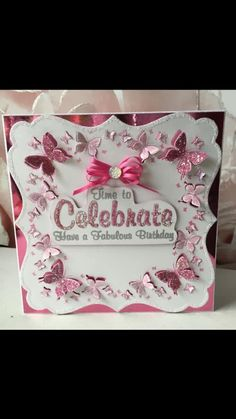 Chloes Creative Cards, Stamps By Chloe, Handmade Cards, Butterflies, Birthdays, Card Making, Coral, 3d, Tags