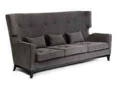 Demetrio Sofa — Jarrett Furniture - Supplying to individual hospitality projects in the UK and abroad Sofa Lounge, Sofa Bench, Contemporary Sofa, Empire Style, Fabric Sofa, Sofas, Love Seat, Armchair, Ottoman