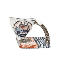 Meteorite Cup — The Nevica Project Nagasaki, Porcelain, Mugs, Tableware, Projects, Red, Log Projects, Porcelain Ceramics, Dinnerware