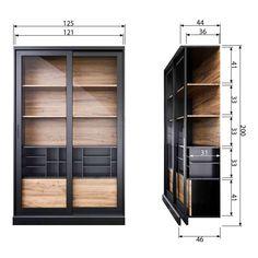 Glass Shelves For Bookcase Small Furniture, Cabinet Furniture, Living Furniture, Home Furniture, Furniture Design, Vintage Vitrine, Classic Cabinets, Large Shelves, Glass Shelves