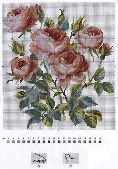 вышиваем розы крестом: 19 тыс изображений найдено в Яндекс.Картинках