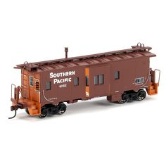 HO RTR Bay Window Caboose, SP #4052 (ATH74744): Athearn Trains