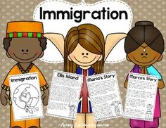 Teach your students about immigration with this unit.  Includes reading passages, task cards and activities to help them master the topic.