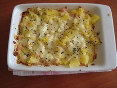 Zapečený květák s brambůrkem pro batolata Czech Recipes, Ethnic Recipes, Mashed Potatoes, Macaroni And Cheese, Healthy Recipes, Healthy Food, Food And Drink, Menu, Vegetables