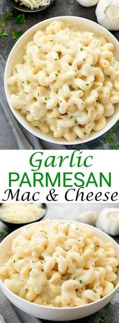 Parmesan Macaroni and Cheese Creamy Garlic Parmesan Macaroni and Cheese. A grown-up mac & cheese that is just as easy to make as the classic.Creamy Garlic Parmesan Macaroni and Cheese. A grown-up mac & cheese that is just as easy to make as the classic.