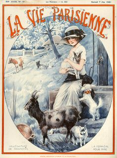 France La Vie Parisienne Magazine Art Print by The Advertising Archives. All prints are professionally printed, packaged, and shipped within 3 - 4 business days. Choose from multiple sizes and hundreds of frame and mat options. Vintage French Posters, Art Vintage, Vintage Artwork, Vintage Illustrations, Vintage Ephemera, Vintage Ads, Belle Epoque, Advertising Archives, Art Deco Illustration