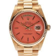 Dream watch. Vintage 1980 pink Rolex 'Stella'  -- LOVE!!