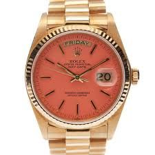 Dream watch. Vintage 1980 pink Rolex 'Stella'  -- LOVE!!
