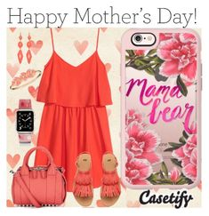"""""""Love to Be WITH MOM """" by casetify ❤ liked on Polyvore featuring H&M, Casetify, Alexander Wang and Anne Klein"""