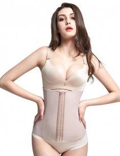 a70228e5c3676 Lover-Beauty 4 Steel Bones Black Beige Slimming Belt Corset for Weight Loss  Shapers Slimming Underwear Hot Shapers Waist Cincher