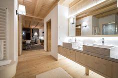 Chalet Zeno Rosa Alpina - Picture gallery #architecture #interiordesign #bathroom