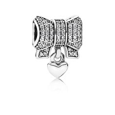 All Wrapped Up, Clear CZ - 791766CZ - Charms | PANDORA