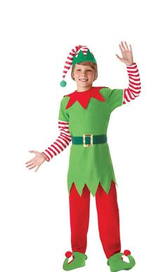 How To Make An Easy Elf Costume Costume Pinterest