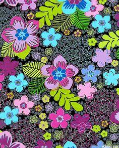 eQuilter Always Blooming - Flower Fascination - Graphite