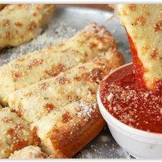 Mozzarella-Käse-Pizzabrot