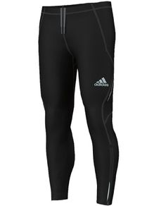 New Adidas Men's Sequencials Lightweight Brushed Tights Black running pants  (S) adidas