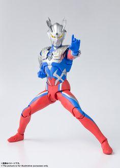 Bandai Tamashii Nations S.H Figuarts Ultraman Zero Action Figure