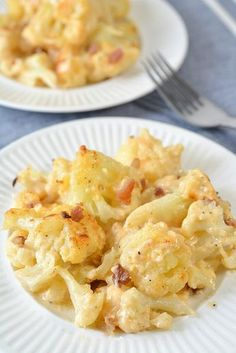 Keto Cauliflower Mac