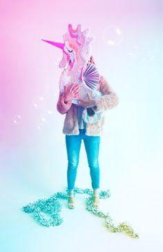 DIY Seahorse Unicorn Piñata | Oh Happy Day!